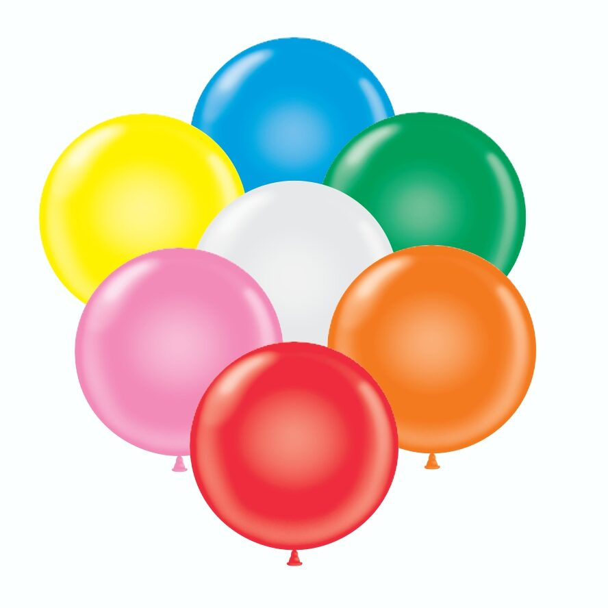 "17"" helium balloon assortment"