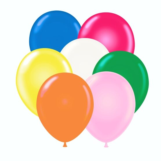 "12"" helium balloon assortment"